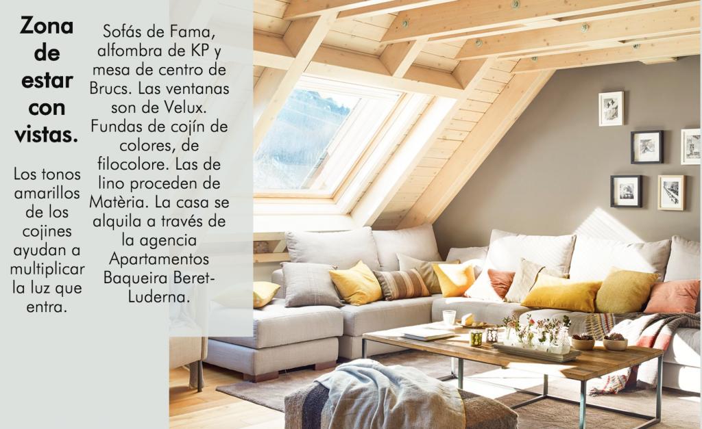 Casas y apartamentos de revista.